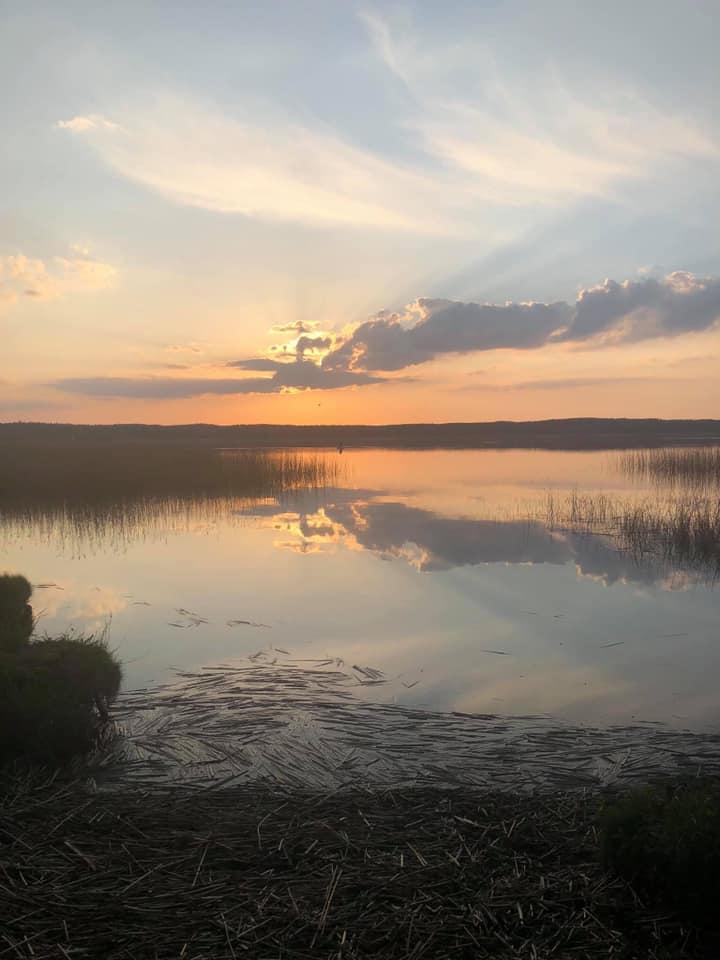 Sasek jezioro widok